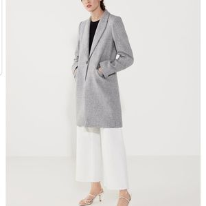 ~ ZARA Wool Coat NEW ~